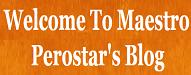 Maestro Perostars Blog